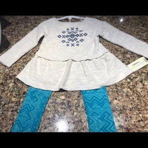 NWT Beautiful Girls Oshkosh Outfit